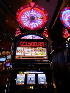 slot machine in vincita