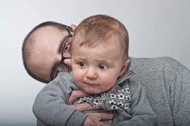 papà e bimba