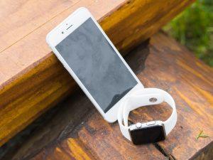 smartphone bianco